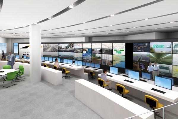 中日本高速道路川崎道路管制センター