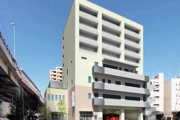 東京消防庁 深川消防署 枝川出張所庁舎